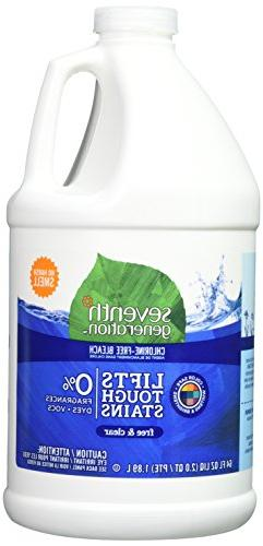 Seventh Generation Chlorine Free Bleach-Free and Clear-64oz,