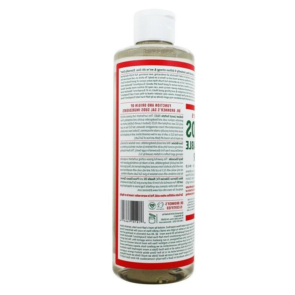 Dr. Bronner's Magic Sal Suds All Liquid Cleaner 32