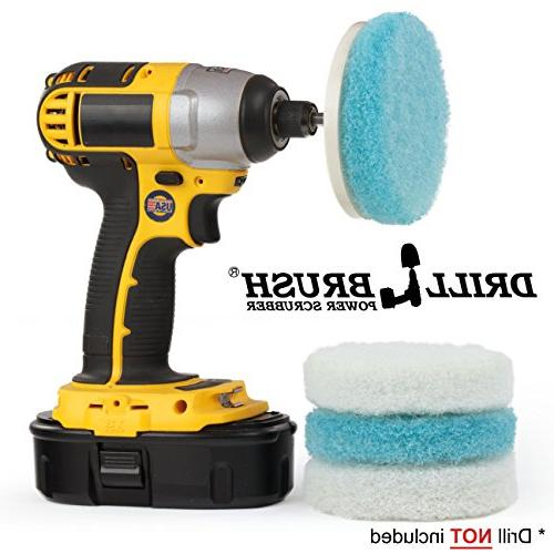 electric handheld power scrubber attachment