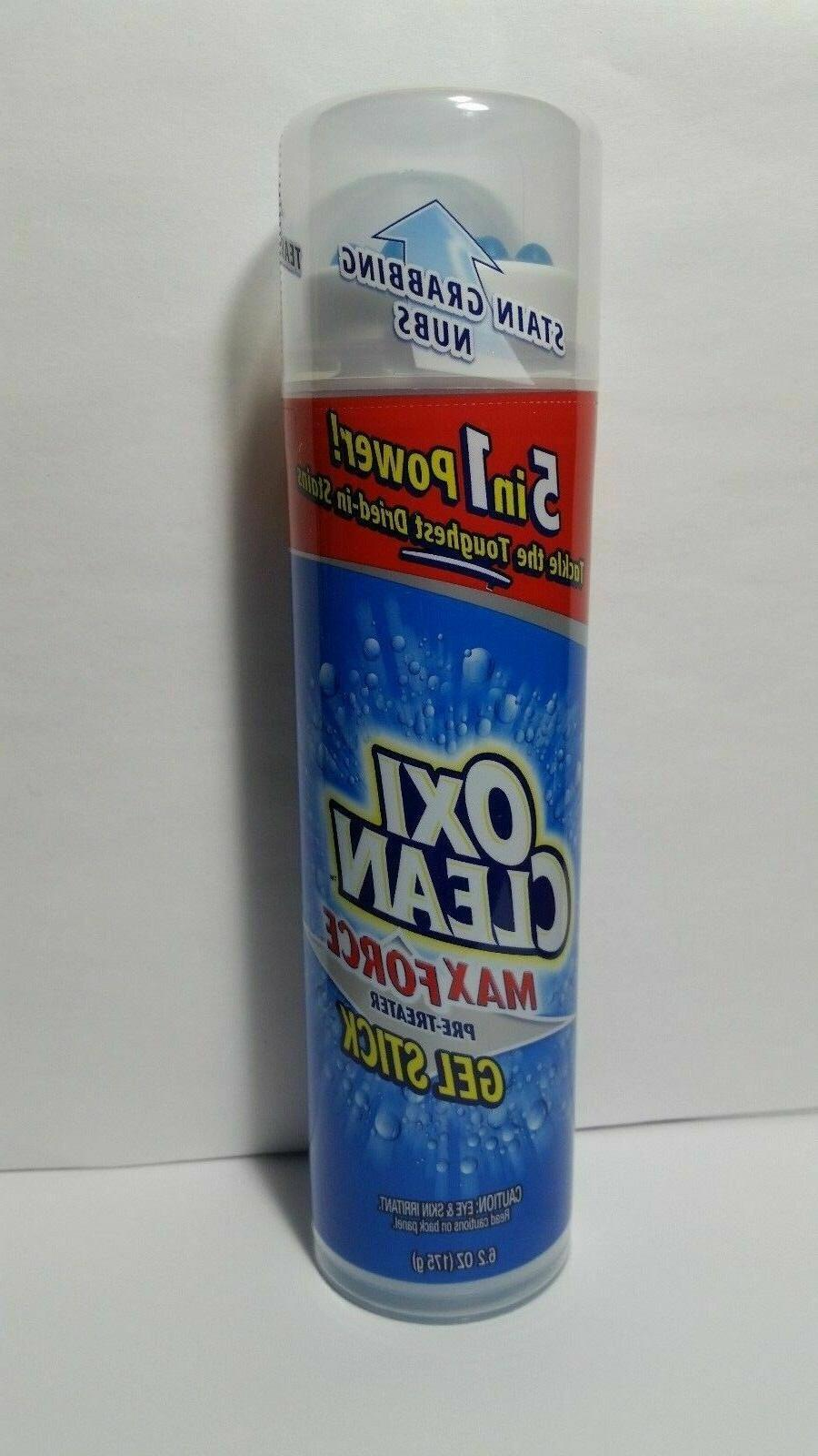 Oxi Clean Max Force Gel Stick Laundry Pre-Treater, 6.2 oz