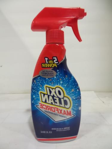 max force laundry stain remover spray 12