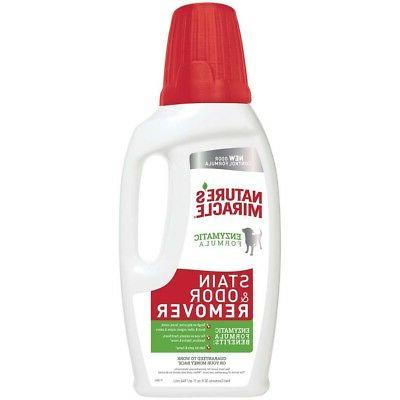 Nature's Miracle Dog And Odor Remover 64oz
