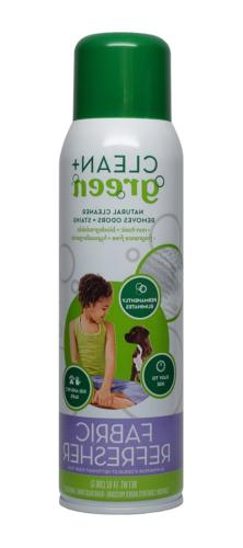 Non-toxic Fabric Refresher Spray, Deodorizer, Stain and Odor