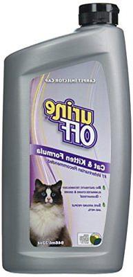 Urine Off Odor and Stain Remover for Cat and Kitten, 32-Ounc