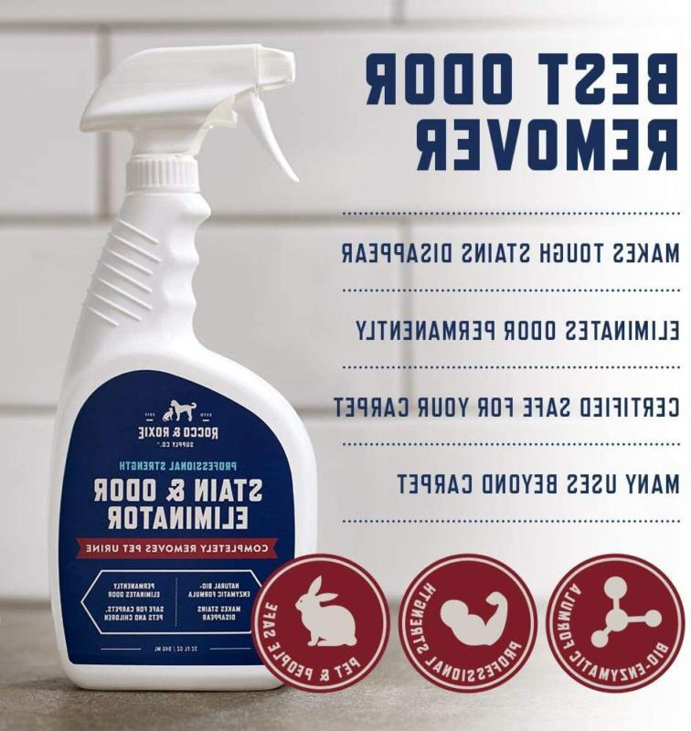 Rocco Roxie Stain Odor Eliminator Enzyme For Dog Cats
