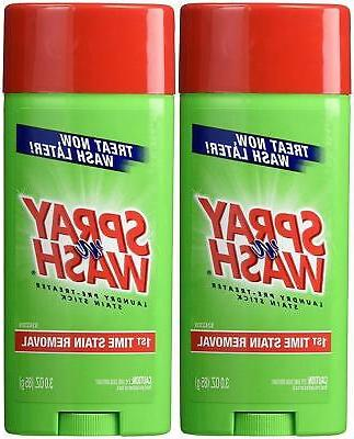 Spray 'N Wash Stain Stick, Pre Treater Laundry Stain Remover