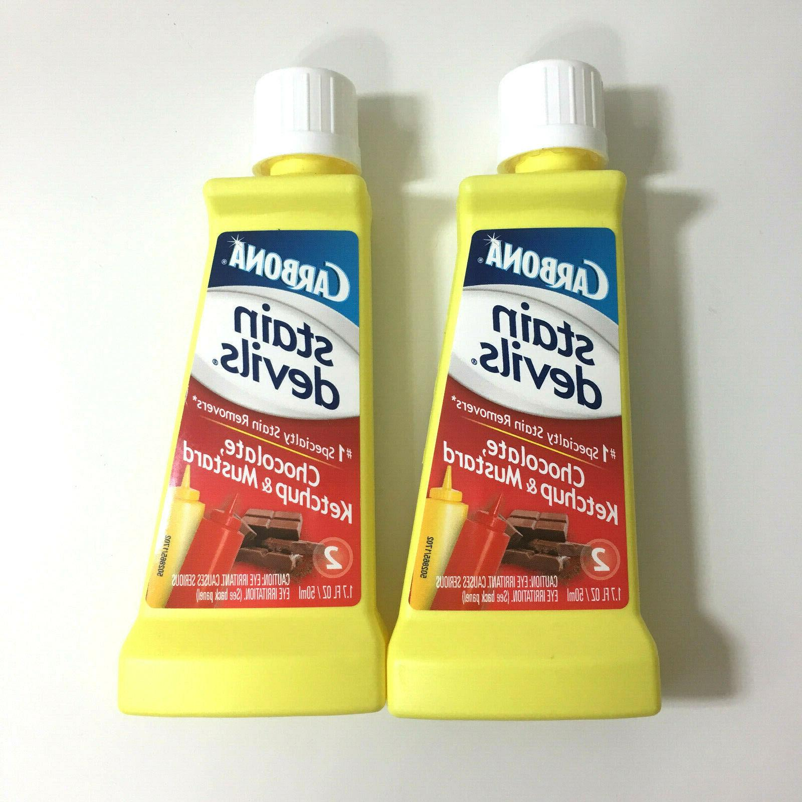 stain devils chocolate ketchup mustard stain remover
