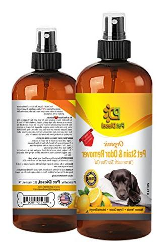 stain odor remover organic enzyme