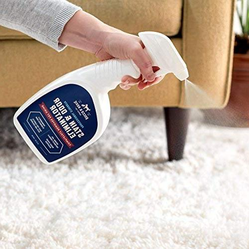 Rocco Professional and Odor Enzyme-Powered Pet Odor for Dogs Urine, Carpet for Small oz.