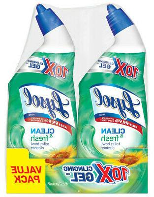 LYSOL CLING Toilet Bowl Cleaner, Country Scent, 24 oz, Bottl