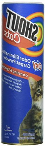 Shout for Pets Turbo Oxy Carpet Odor Eliminator Powder | Bes