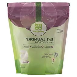 Grab Green 3-in-1 Laundry Detergent Lavender with Vanilla Bi
