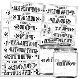 Laundry Room & Home Office Preprinted Labels, Organization S