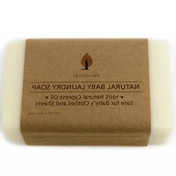 All Natural Baby Laundry Soap Bar - Pack of 2. Stain Remover