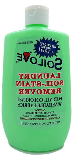Soilove Laundry Soil-Stain Remover 16 OZ Fast Free Shipping