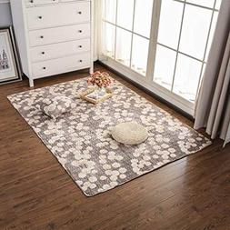 GIY Living Room Area Rug Soft Rectangular Travel Carpets Chi