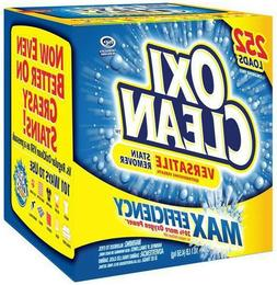 OxiClean Max Efficiency Stain Remover 10.1 lbs  Oxi Clean De