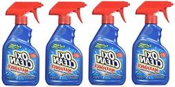 OxiClean Max Force Stain Remover Spray, 12 Ounce Pack of 4