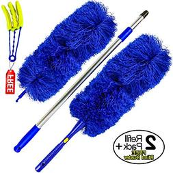 Temples Pride Microfiber Hand Duster with Extendable High Re