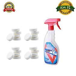21 Pcs Multi Functional Effervescent Spray Cleaner Set With