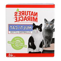 Nature's Miracle Multi-Cat Clumping Litter with Odor Control