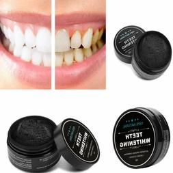 Natural Activated Organic Charcoal Tooth Whitening Powder St
