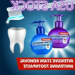 Natural Intensive Stain Remover Whitening Toothpaste US STOC