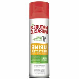 Nature's Miracle Pet Stain Urine Destroyer Foam Spray Odor R