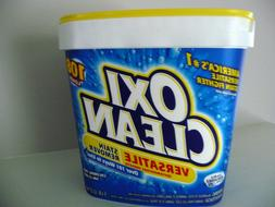New OxiClean Versatile Laundry Stain Remover Powder 5lb 108