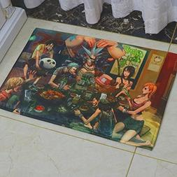 One Piece Rugs Anti-slip - Japanese Anime Fans Gifts Safe He
