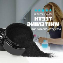 Organic Activated Charcoal Powder for Natural Teeth Whitenin