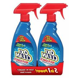 2 PACK | OxiClean Max Force Laundry Stain Remover Spray 16 o