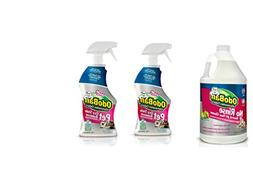 OdoBan Pet Solutions 32oz Spray Bottle 2-Pack and 1 Gal Neut