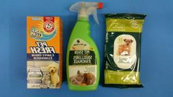 Pet stain and odor remover, Arm & Hammer w/Oxi clean carpet