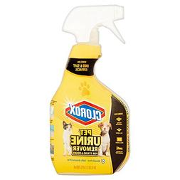 Clorox Pet Urine Remover for Stains and Odors, Spray Bottle,