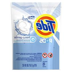 Tide PODS Laundry Detergent, Free & Gentle, 30 Ounce