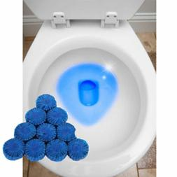 Practical Blue Bubble Toilet Bowl Cleaner Stain Remover Tabl