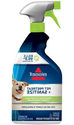 Bissell Sanitize Stain Destroyer Pretreat Pet Plus Odor Remo