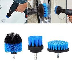 Shensee 3Pc Scrub Brushes Drill Attachment Kit,Grout Power S
