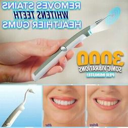Sonic Pic* Gentle Dental Teeth Whiten Ultrasonic Tooth Stain