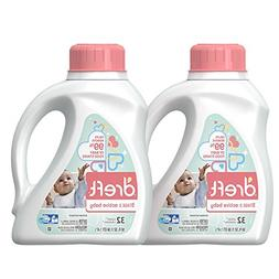 Dreft Stage 2: Active Hypoallergenic Liquid Baby Laundry Det
