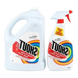 Shout Stain Remover with Extendable Trigger Hose - 3.8 L + 8