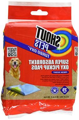 Shout for Pets Turbo Oxy Super Absorbent Oxy Pickup Pads | B