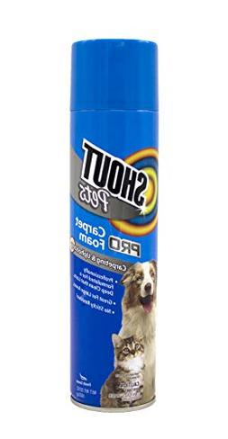 Shout For Pets Stains Turbo Oxy Stain Lifting Foam