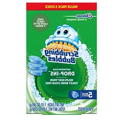 Scrubbing Bubbles Toilet Cleaner Drop Ins 5pk