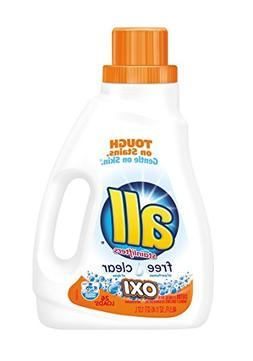 all Liquid Laundry Detergent with OXI Stain Removers and Whi