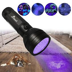 DaskFire Ultraviolet Flashlight, Blacklight Flashlight 51 LE