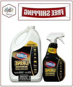 Clorox Urine Remover 1 gal Bottle Clean Floral Scent 31351EA