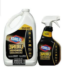 Clorox Urine Remover for Stains & Odors 32 oz Spray Bottle a