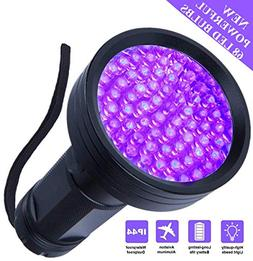 UV Flashlight Black light, WJZXTEK Super Bright 68 LED Best